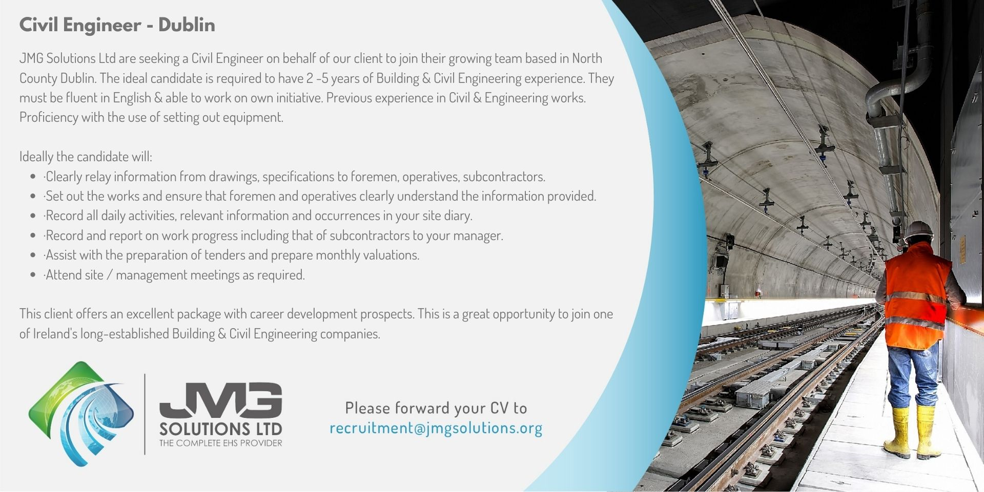 Civil Engineer Breffni Dublin
