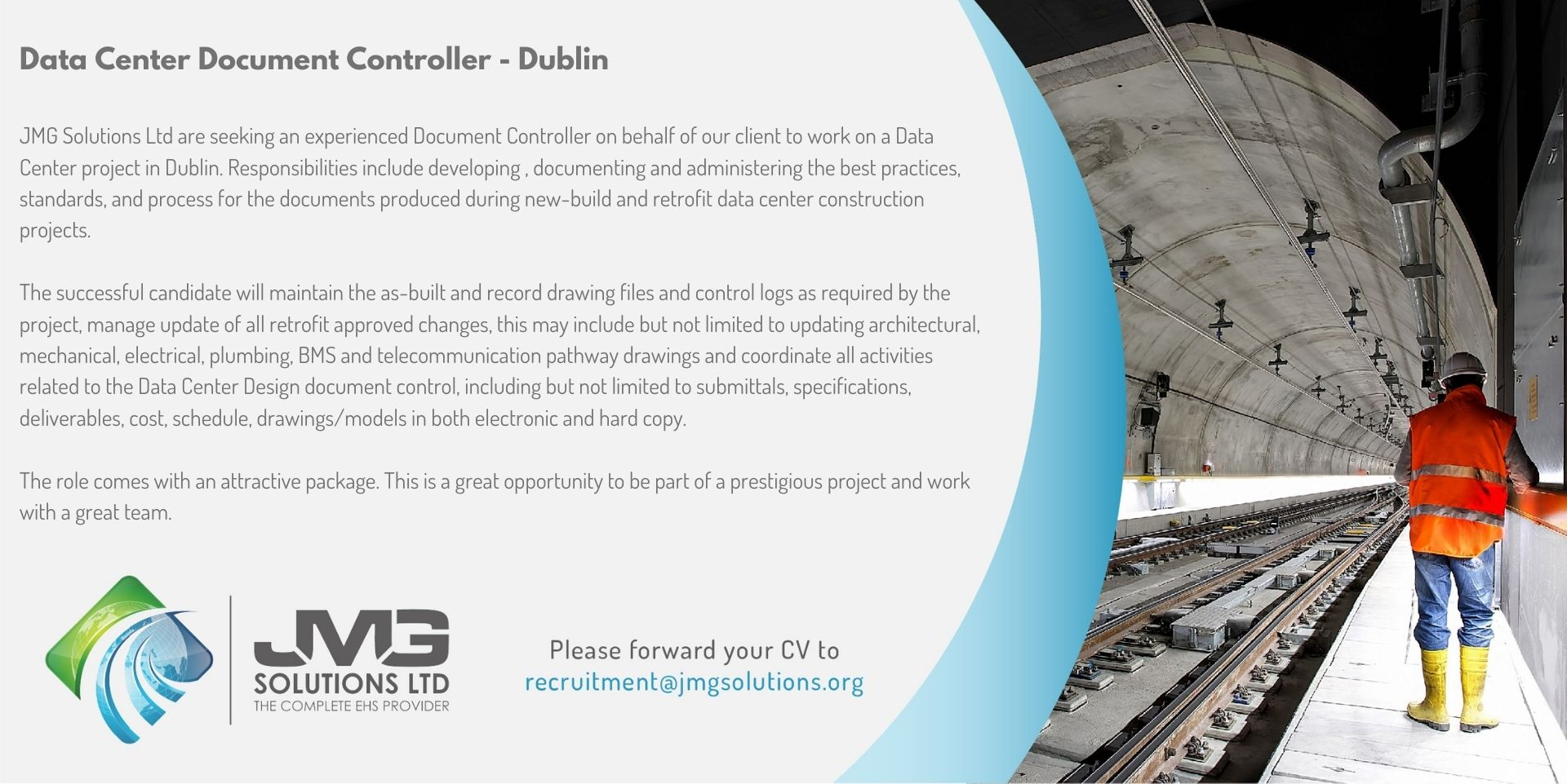 Data Center Doc Controller CBRE Dublin